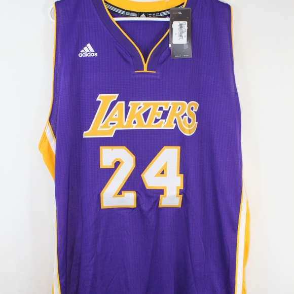 32128fbbc Adidas L.A Lakers  24 Kobe Bryant Swingman Jersey